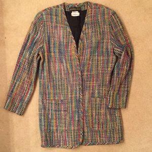 Sandra Roth Ciaosport Neiman Marcus Blazer Size 12
